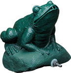 Aqua Ultraviolet UV Sterilizer 25 Watt Frog Statuary  A00308