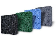 "Matala Filter Media Pads 4 Colors Black Green Blue And Gray Half Sheets 39"" x 24"" x 1.5"""