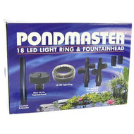 Pondmaster 18 LED Light Ring & Fountainhead
