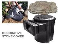 "Savio K 5001 Full Size SkimmerFilter  Decorative Stone Cover 30"" x 31"" x 5"""