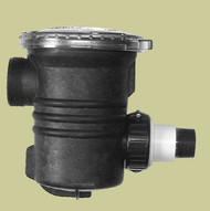 """Sequence Basket Strainer 500 cu. in. 2"""" 1/O Clear Lid"""
