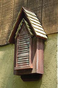 Heartwood Victorian Bat Mansion Redwood