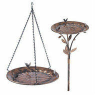 Opus Expeditions Victorian Style Copper Birdbath