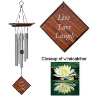 Woodstock Chimes Reflections Sentiments Live Love Laugh