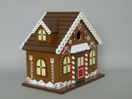 Home Bazaar Gingerbread Bird House