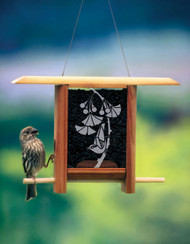 Schrodt Gingko Leaves Bird Feeder