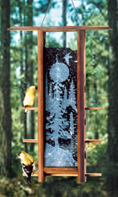 Schrodt Tranquil Forest Bird Feeder