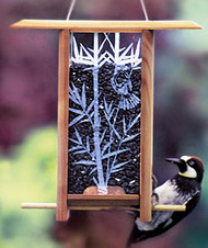 Schrodt Bamboo Grove Bird Feeder