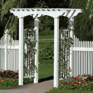 New England Newport White Arbors