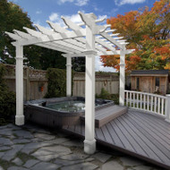 New England Liberty Pergola