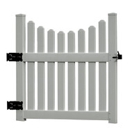 New England Cottage Gate 50""