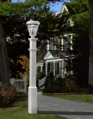 New England Sturbridge Lamp Post