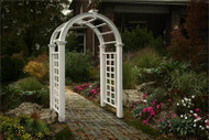New England Nantucket Deluxe Arbor