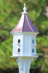 "Fancy Home Products Slope Birdhouse Bright Copper 14"" BH14-8-BC SLOPE"