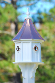Fancy Home Products Slope Birdhouse Bright Copper BH14-4CP-BC SLOPE