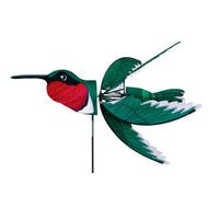"Premier Windgarden 37"" Ruby Throated Hummingbird Spinner"