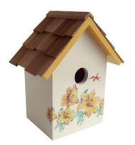 Home Bazaar Printed Standard Lily Bird House