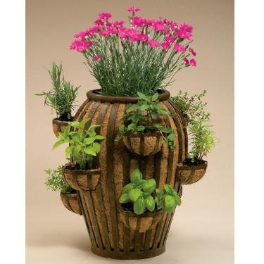 Deer Park Ironworks Strawberry Pots Decorative Planters