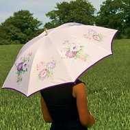 Laura Ashley Country Umbrella Ceclia Mauve