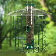 Droll Yankees Sunflower Domed Cage Squirrel Proof Bird Feeder