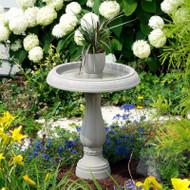 Allied Precision Flower Pot Birdbath
