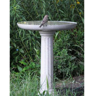 Allied Precision Kozy Bird Spa Birdbath and Pedestal Base