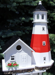 Home Bazaar Montauk Point Light House Bird House