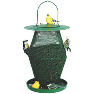 No No Hourglass Bird Feeder Forest Green No No Hourglass Feeder
