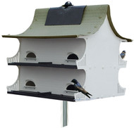 S&K Great Eight 8-Family Purple Martin House G8