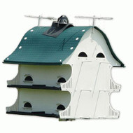 S&K American Barn 12-Family Barn Purple Martin House AB
