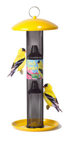 No No Straight Sided Finch Tube Bird Feeder No NoYellow Colored Goldfinch Thistle Feeder