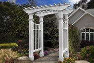 New England Devonshire Arbor w/ Trim Kit