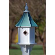 "Fancy Home Products Blue Bird House Patina Copper10"" BH10-PC"