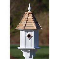 "Fancy Home Products Blue Bird House Cypress Shingle 10"" BH10-CS"