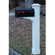 Fancy Home Products Mailbox Post MBP-6-02-RP