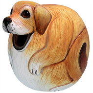Bobbo Dog Lab Ball Birdhouse BOBBO3880069