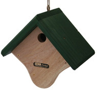 Birds Choice Wren House Natural Cedar w/ Green Roof GWREN