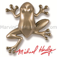 Michael Healy Tree Frog Door Knocker in Nickel Silver MH1403