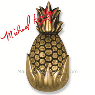 Michael Healy Hospitality Pineapple Door Knocker in Brass MH1501