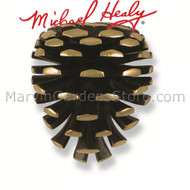 Michael Healy Pinecone Door Knocker in Brass MH2291