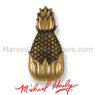 Michael Healy Hospitality Pineapple Doorbell Ringer in Brass MHR01