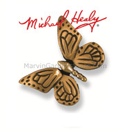 Michael Healy Monarch Butterfly Doorbell Ringer in Brass/Bronze MHR17