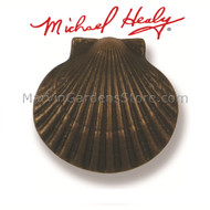 Michael Healy Bay Scallop Doorbell Ringer in Oiled Bronze MHR61