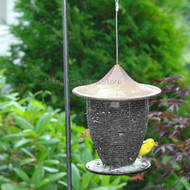 Byer of Maine Alcyon Pagoda Bird Feeder in Sandy Granite SF41102