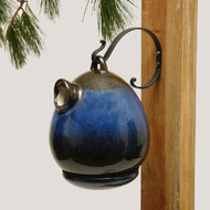 Byer of Maine Alcyon Egg Bird House in Cobalt Blue SH41220