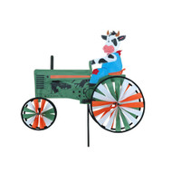 Premier WindGarden 22 inch Cow Tractor Spinner