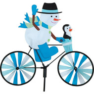 Premier WindGarden 20 inch Snowman Bicycle Spinner