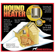 "Akoma Hound Heater Deluxe Dog House Furnace Heater 10""x10""x4.5"" HHF-PC"