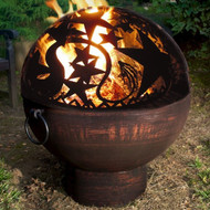 Good Directions Fire Bowl with Orion Fire Dome 26""