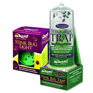 Rescue Stink Bug Trap w/ Indoor Light Attachment for Indoor/Outdoor Use